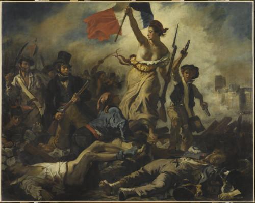 1_Eugène Delacroix, Le 28 juillet 1830. La Liberté guidant le peuple-jpg