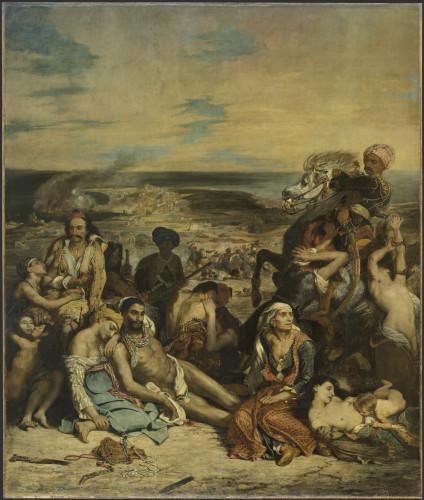 5_Eugène Delacroix, Scène des massacres de Scio-jpg