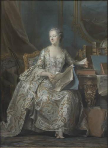 Maurice Quentin de La Tour, Portrait of the Marquise de Pompadour © Musée du Louvre, dist. RMN - Grand Palais / Martine Beck-Coppola