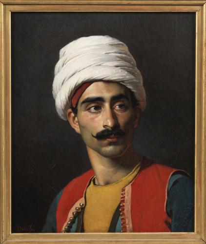 DubufePortrait de Hassan c Musee du Louvre  Philippe Fuzeau-jpg