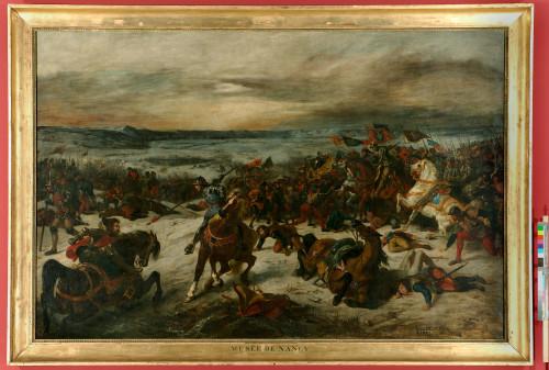 12_Eugène Delacroix, La Bataille de Nancy-jpg