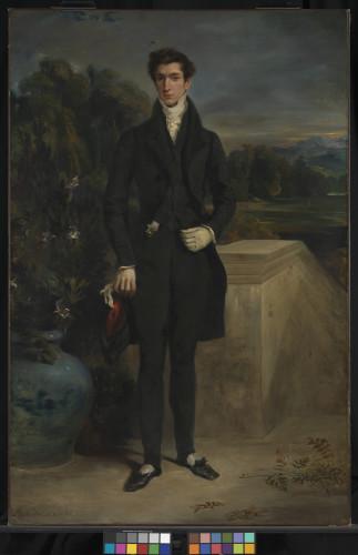 4_Eugène Delacroix, Portrait de Louis Auguste Schwiter-jpg