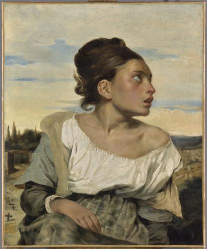10_Eugène Delacroix, Jeune orpheline au cimetière-jpg
