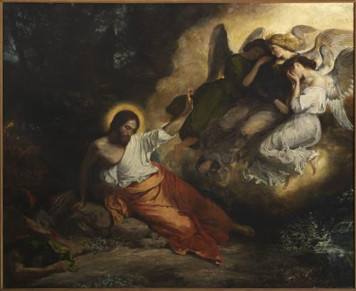 25_Eugène Delacroix, Le Christ au jardin des oliviers-jpg