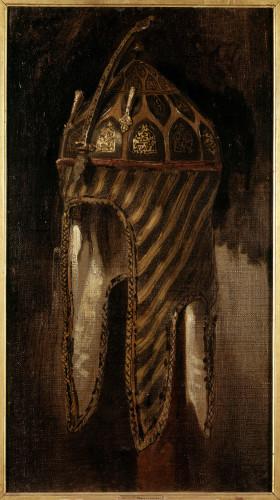DelacroixEtude de casque circassien RMN-GPmusee du LouvreFranck RauxRene-Gabriel Ojeda-jpg