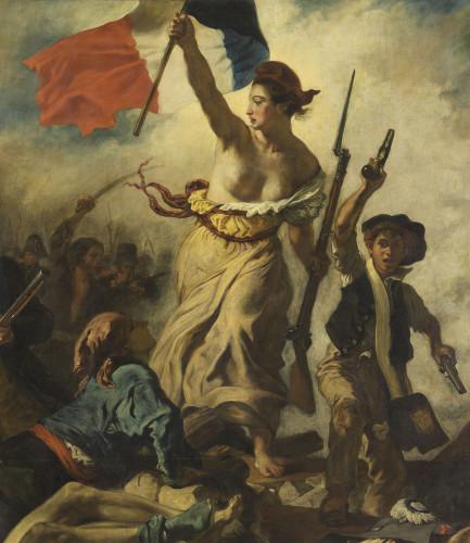 Eugène Delacroix, La Liberté guidant le peuple © RMN-Grand Palais (musée du Louvre) / Michel Urtado
