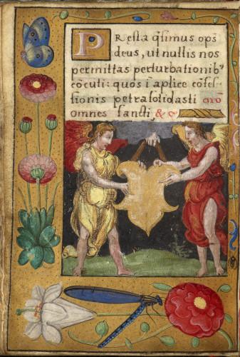 10Livre dheures de Francois Ier page du manuscrit  S-J Philips-jpg