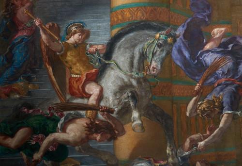 Heliodore chasse du temple Eugene Delacroix - Jean Marc Moser-jpg