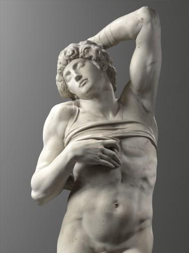 1_Michel-Ange, Captif © Musée du Louvre, dist. RMN - Grand