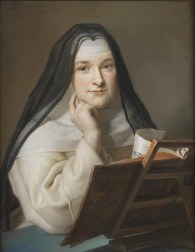 8_Portrait de religieuse attribue a Maurice Quentin de la Tour_Musee du Louvre_© Musée du Louvre, dist. RMN - Grand Palais / Philippe Fuzeau-jpg