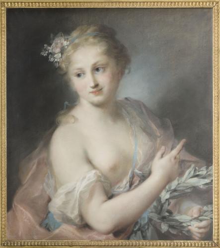 5_Rosalba Carriera Nymphe de la suite dApollon_Musee du louvre_© RMN-Grand Palais (musée du Louvre) / Michel Urtado-jpg