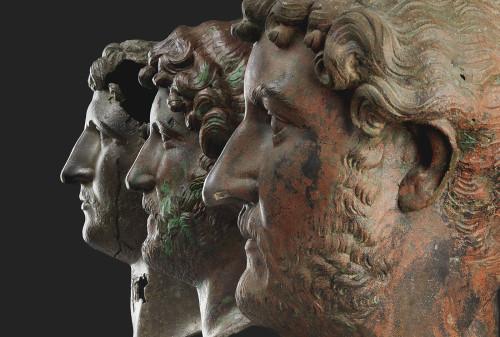 Portraits en bronze de l'Empereur Hadrien (c) The Israel Museum, Jeruselam EPosner