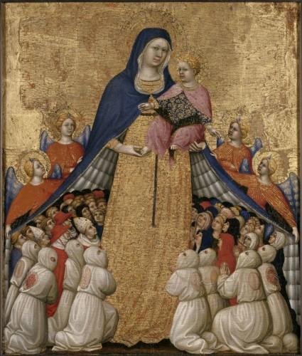 15. Pietro di Domenico da Montepulciano. Vierge de Miséricorde © L'œil et la mémoire  Fabrice Lepeltier