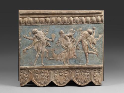 9. Plaque Campana Terre cuite Vers 1-50 ap- J–C- Paris musee du Louvre departement des Antiquites grecques etrusques et romaines  Musee du Louvre dist- RMN – Grand Palais-jpg