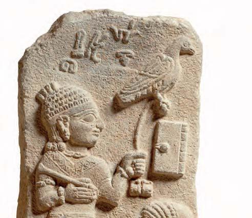 Stele du scribe Tarhunpiyas detail musee du Louvre c Musee du Louvre dist- RMN-GP F- Raux-jpg