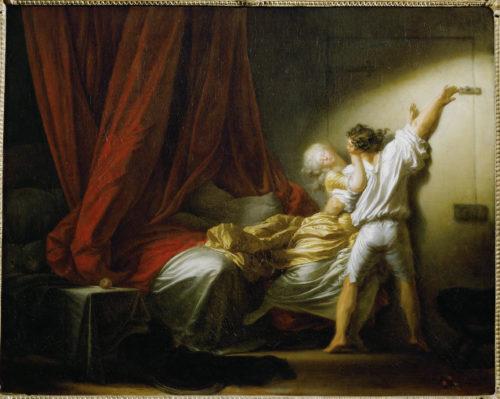 Jean-Honore Fragonard Le Verrou musee du Louvre c musee du Louvre dist- RMN-GP – A- Dequier-jpg