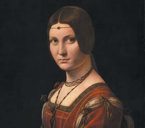 Leonard de Vinci La Belle Ferroniere detail musee du Louvre c Musee du Louvre dist- RMN – GP Michel Urtado-jpg