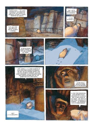 18- Nicolas de Crécy, Période Glaciaire, page 26 © Nicolas de Crécy