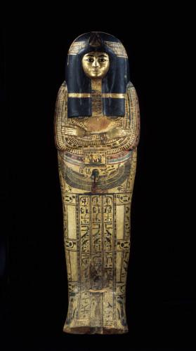 13- Cuve de cercueil exterieur de Tamoutnefret © Musée du Louvre, dist- RMN – Grand Palais – Georges Poncet