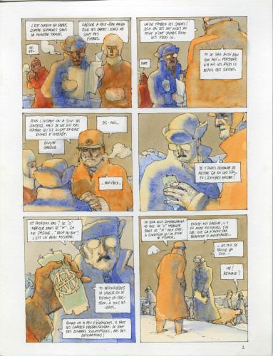 7- Nicolas de Crecy, Période Glaciaire, page 5 © Nicolas de Crecy