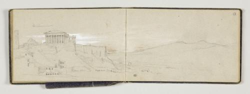 3- Léon Adolphe Auguste Belly, Vue de l'acropole d'Athènes © RMN-Grand Palais (musée du Louvre) - Michel Urtado
