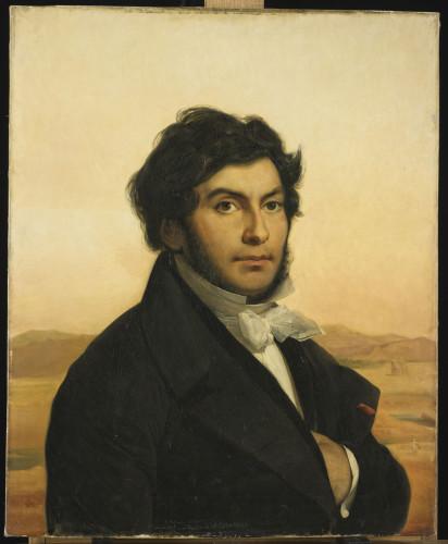 6- Leon Cogniet, Jean-Francois Champollion © RMN – Grand Palais Musée du Louvre – Michel Urtado