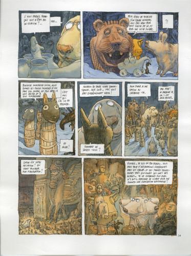 15- Nicolas de Crecy, Période Glaciaire, page 56 © Nicolas de Crecy