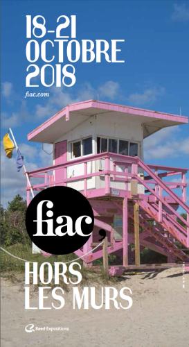 Affiche FIAC 2018 © FIAC