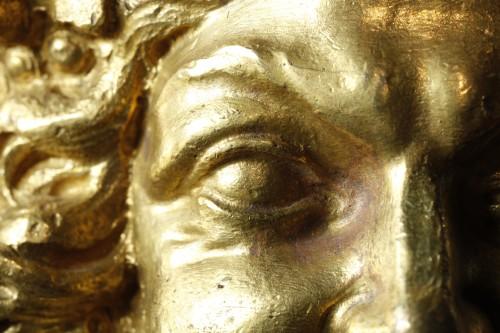 Détail d'un cabinet attribué à André-Charles Boulle, musée du Louvre, département des Objets d'art © Marc Voisot