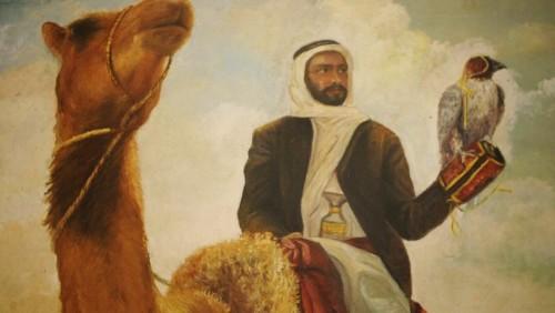 Cheikh Zayed une legende arabe film de Frederic Mitterrand, 2014  © Arte France  Electron Libre Productions