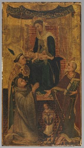 Panneau Vierge à l'enfant © Musée du Louvre - Philippe Fuzeau