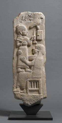 Stèle du scribe Tarhunpiyas, musée du Louvre, département des Antiquités Orientales © Musée du Louvre,  dist. RMN - Grand Palais / F. Raux