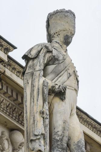 Sculpture de soldat de la Grande Armee chasseur a cheval par Foucou  2018 musee du Louvre – Olivier Ouadah-jpg
