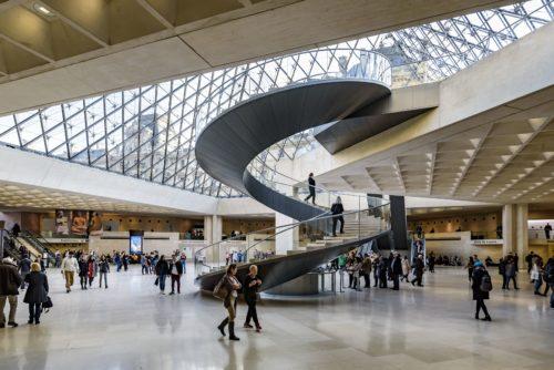 4-La Pyramide du Louvre vue intérieure © 2017 musée du Louvre – Olivier Ouadah-jpg
