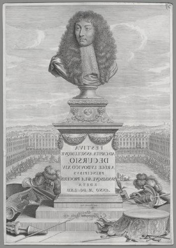 3-Gilles Rousselet et Israël Silvestre, Courses de Testes et de Bagues faittes par le Roy et par les Princes et Seigneurs de sa Cour, 1668-jpg