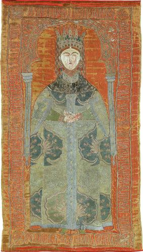 9- Voile funéraire de Marie de Mangop © Monastère de Putna, Roumanie-jpg
