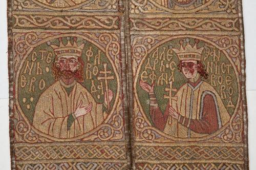 3- Épitrachelion d'Étienne le Grand, détail © Monastère de Putna, Roumanie-jpg