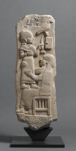10-Stele du scribe Tarhunpiyas  Musee du Louvre dist- RMN-Grand PalaisF- Raux-jpg