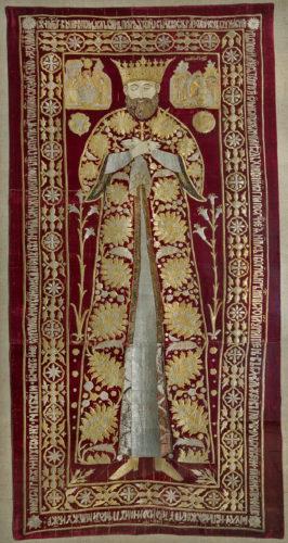 11- Voile funéraire de Siméon Mogila © Monastère de Sucevița, Archevêché de Suceava et Rădăuți –jpg