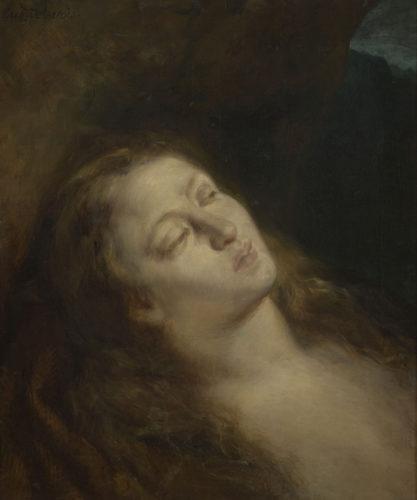 Eugène Delacroix, La Madeleine au désert - RMN-Grand Palais (Musée du Louvre)  Michèle Billot-jpg