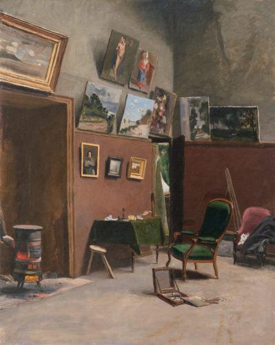 Frederic Bazille, L'atelier de la rue Fürstemberg – RMN-Grand Palais  Christian Jean-jpg