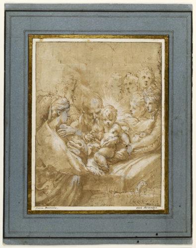 5- Parmigianino, La Circoncision © Musée du Louvre, dist- RMN-Grand Palais – Suzanne Nagy-jpg