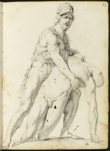 3- Gros_Ménélas soutenant le corps de Patrocle © RMN-Grand Palais (musée du Louvre)-Stéphane Maréchalle-jpg