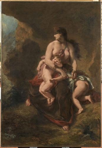 Eugène Delacroix, Médée furieuse - RMN-Grand Palais (musée du Louvre)  René-Gabriel Ojéda-jpg
