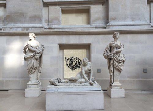Jean-Michel Othoniel, La Rose du Louvre, 2019. Simulation de l'installation en cour Puget