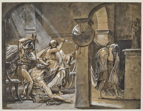 8- Gros_La Mort de Timophane © RMN-Grand Palais (musée du Louvre)-Michel Urtado -jpg