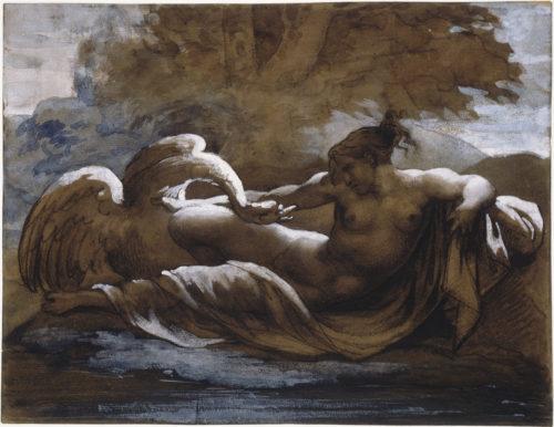 Théodore Géricault, Léda et le cygne - RMN-Grand Palais (musée du Louvre)  Jean-Gilles Berizzi-jpg