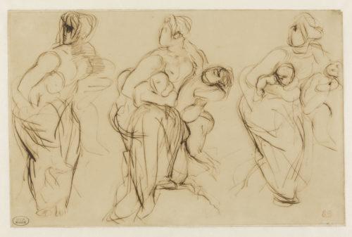 Eugène Delacroix, Croquis pour Médée - RMN-Grand Palais  Stéphane Maréchalle-jpg