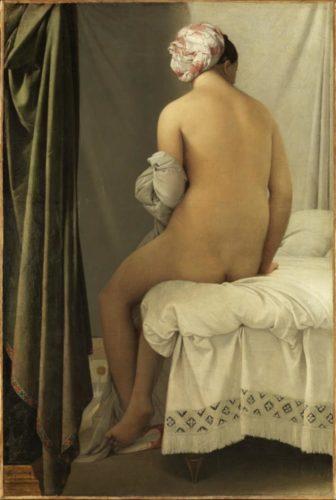 La baigneuse Jean-Auguste-Dominique Ingres  2015 RMN-Grand Palais musee du Louvre Philippe Fuzeau-jpg