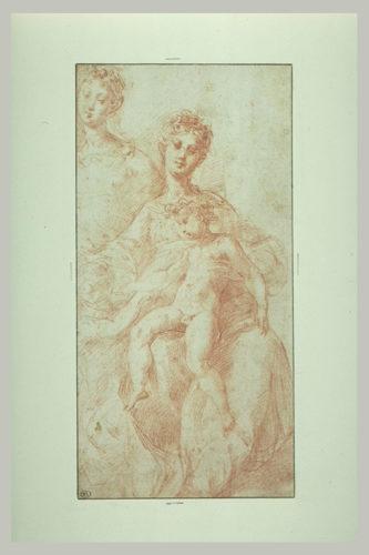 6- Parmigianino Vierge et lEnfant musee du Louvre  RMN-jpg